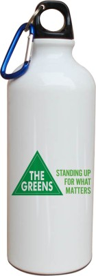 Tiedribbons Our Earth_Our Care_World Envronment Day_The Green _White Sippers 600 ml Water Bottle
