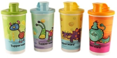 Tupperware Printed Tumbler With Sipper Seal 330 ml Water Bottles