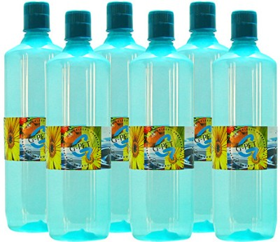 G-PET Fridge Mint 1000 ml Water Bottles