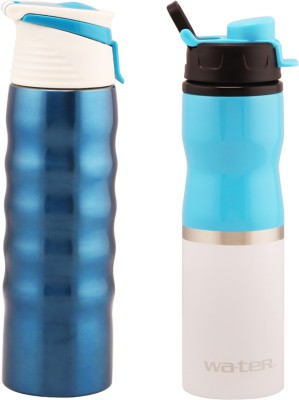 wa.ter Easy carry 750 ml Water Bottles