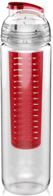 Omic Poto Fruit Infuser Bottle (Red) 1000 ml Bottle