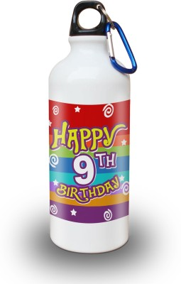 Sky Trends Gift 9th Happy Birthday 600 ml Water Bottle