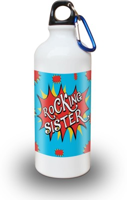 Sky Trends Gift Rocking Sister Gifts For Birthday 600 ml Water Bottle