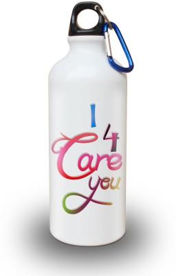Sky Trends Gift White Sipper 600 ml Water Bottle