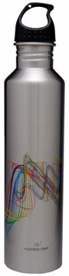 Hot Muggs Classic 1000 ml Water Bottle(Set of 1, Multi-color)
