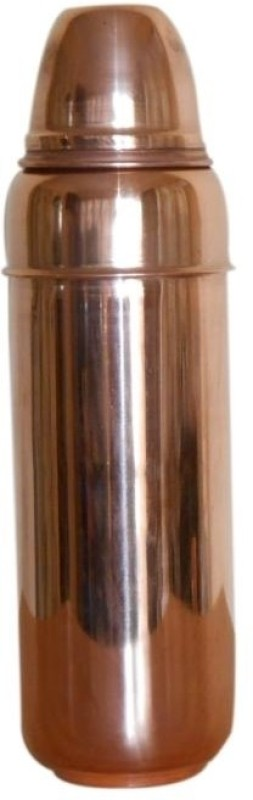 Tera India Vacuum 850 ml Water Bottle(Set of 1, Brown)