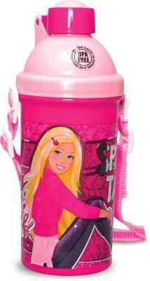Barbie Opaque - Push Button 500 ml Water Bottle