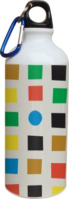 Tiedribbons Colored Square Pattern 600 ml Water Bottle