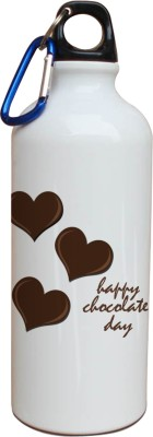 Tiedribbons Heart Chocolate Day Sipper 600 ml Water Bottle