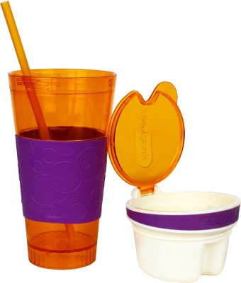 Goldendays 2 In 1 Snack & Drink cup 350 ml Water Bottle