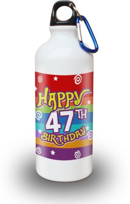 Sky Trends Gift 47th Happy Birthday 600 ml Water Bottle