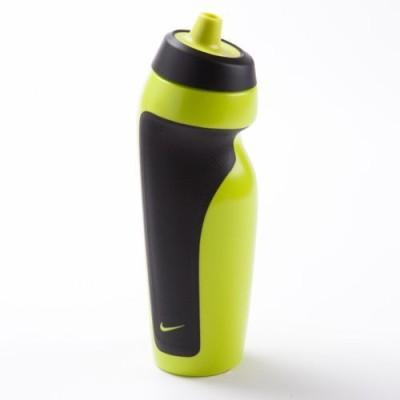 Nike Team 650 ml Water Bottle(Set of 1, Florsecent Green, Black)