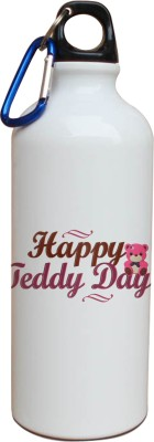 Tiedribbons Happy Teddy Day With Heart Sipper 600 ml Water Bottle