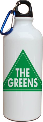 Tiedribbons Our Earth_Our Care_World Envronment Day_ The Greens _White Sippers 600 ml Water Bottle