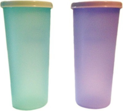 Tupperware Rainbow 340 ml Water Bottles