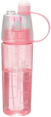 Tuelip New B Portable for Outdoor Cycling Camping Hiking Spray with Water Bottle 600 ml(Pink)