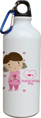 Tiedribbons I Love You Happy Valentine Sipper 600 ml Water Bottle