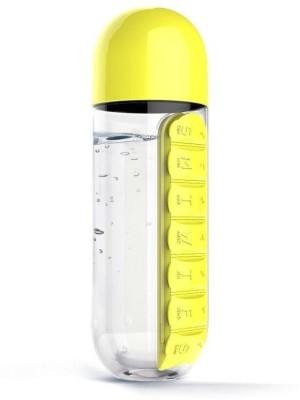 Mehakent PILL BOTTLE 600 ml Bottle(Pack of 1, Multicolor) at flipkart