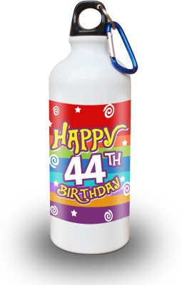 Sky Trends Gift 44th Happy Birthday 600 ml Water Bottle
