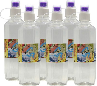 G-PET With Sipper Mint 500 ml Water Bottles