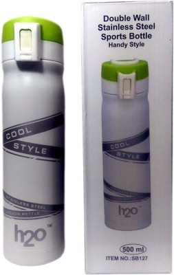 H2O Sb127 Hot & Cold Stainless Steel Sports 500 ml Water Bottle