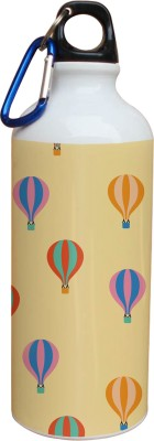 Tiedribbons Colorfull Ballon With Light Yellow Pattern 600 ml Water Bottle