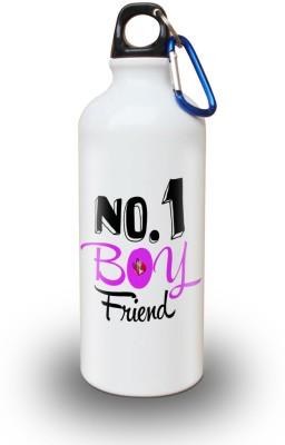Sky Trends Gift No.1 Boyfriend White Sipper Bottle 600 ml Water Bottle