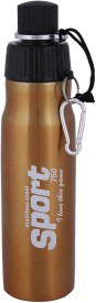 Brio Bright Water Locked BZ SB-106 750 ml Water Bottle(Set of 1, Gold)