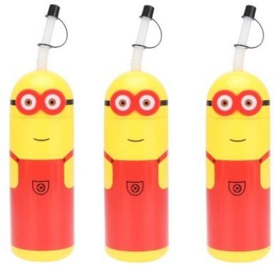 Tuelip Minion Sipper 440 ml Water Bottles