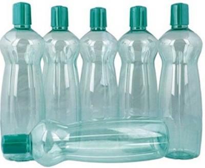 Milton Fridge Bottle 1000 ml Water Bottles(Set of 6, Green)