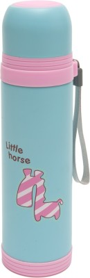 thepaper.asia animal collection 500 ml Water Bottle(Set of 1, blue)