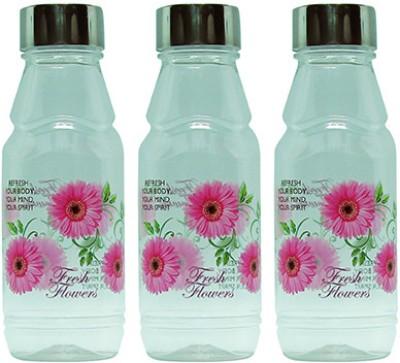 G-PET Fridge Rose with Steel Cap 500 ml Water Bottles