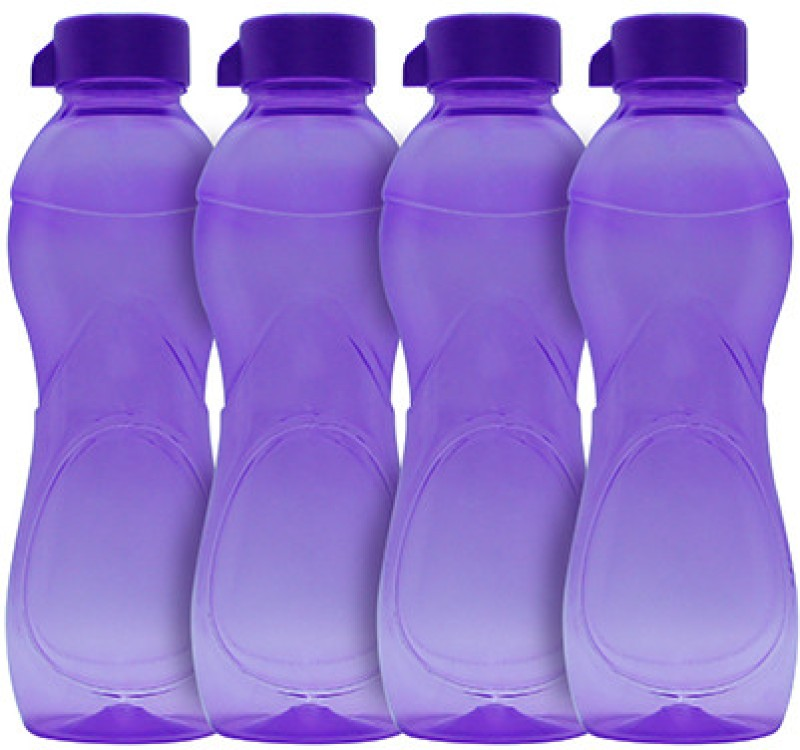 G-PET Iceberg BPA Free Fridge 1000 ml Water Bottles(Set of 4, Purple)