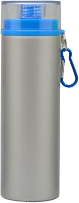 Omada Silver & Blue Lid 800 ml Water Bottle