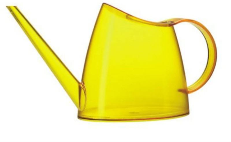 Shrih Yellow Plastic Watering Can 1 L Water Cane(Yellow, Pack of 1)