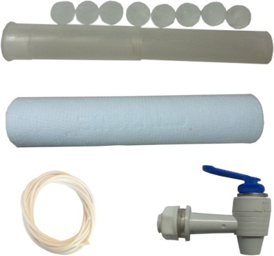 SAE 5 MICRON SPUN WITH AS INSERT, HOSE AND TAP Solid Filter Cartridge(5 MICRONS, Pack of 4)