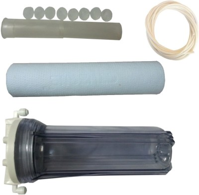 SAE COMPLETE PREFILTER SET WITH AS INSERT AND HOSE Solid Filter Cartridge(5 MICRONS, Pack of 4)