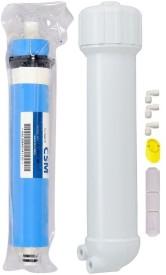 BalRama CSM RO Membrane 80 GPD Filter + Membrane Housing Set + FR RO Service Kit Solid Filter Cartridge(0, Pack of 6)