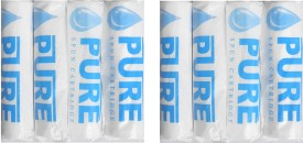 """Pure 10"""" Spun candle 5 Micron 8 pcs for water purifier Solid Filter Cartridge(5, Pack of 8)"""