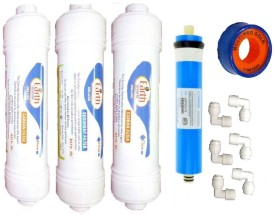Shopping Store Ro Service Inline Filter set modl159 Solid Filter Cartridge(0.5, Pack of 11)