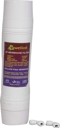 View Wellon Ultra Filtration Wound Filter Cartridge(0.1 Micron, Pack of 1) Home Appliances Price Online(Wellon)