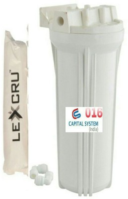 Capital Ro 10 inch Housing Set With Lexcru Pp Spun Filter Solid Filter Cartridge