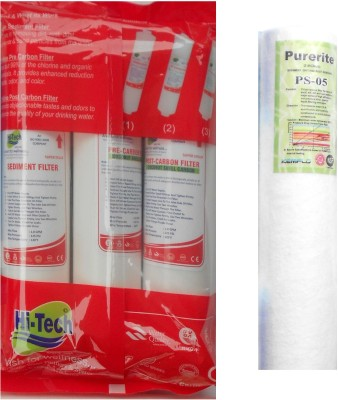 Purerite 1 year service kit with Hi-tech Inline set and Spun Solid Filter Cartridge