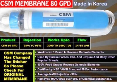 BalRama RO Membrane CSM 80gpd Solid Filter Cartridge