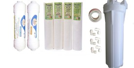 Earthrosystem Ro Service Inline Filter set Modl15 Solid Filter Cartridge(0.5, Pack of 14)