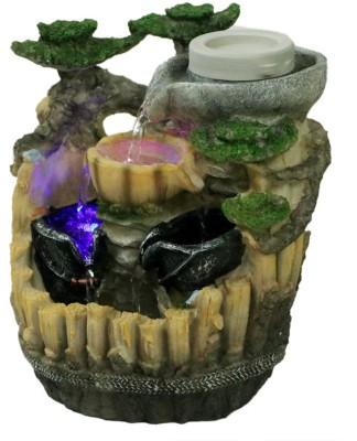 Tramp & Badger Indoor, Outdoor Water Fountain(33 cm X 20 cm X 9 cm)