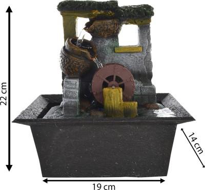 eCraftIndia Indoor, Outdoor Water Fountain(22 cm X 14 cm X 19 cm)