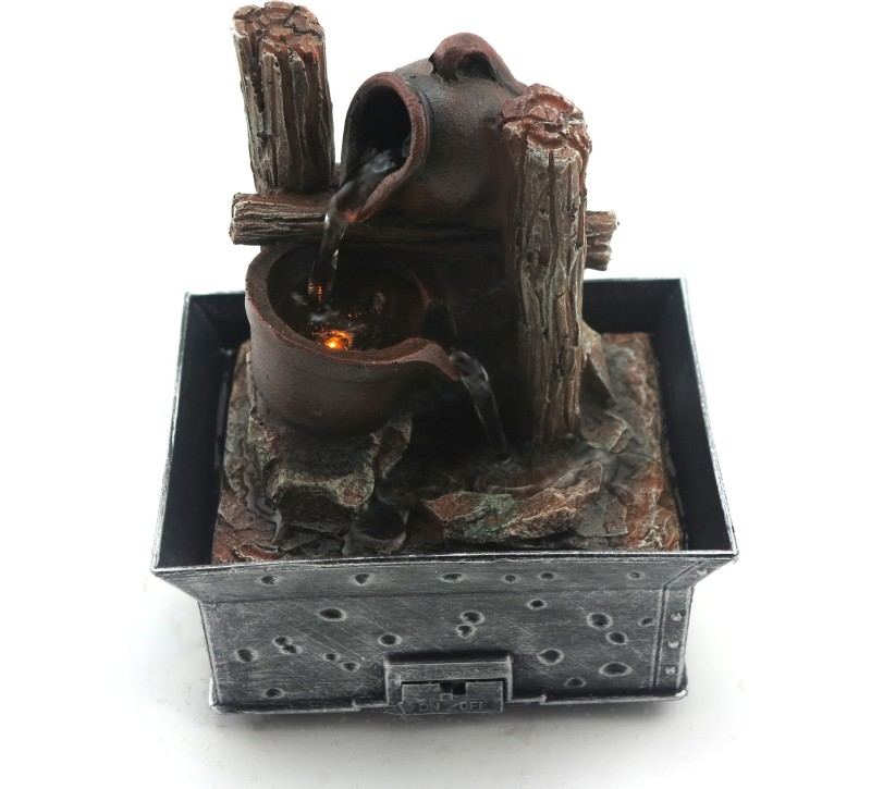Importwala Indoor Water Fountain(10 cm X 13.5 cm X 13.5 cm)