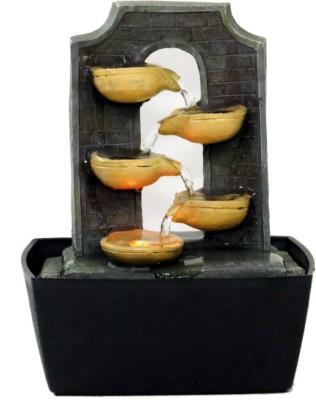 Tramp & Badger Indoor, Outdoor Water Fountain(33 cm X 20 cm X 10 cm)