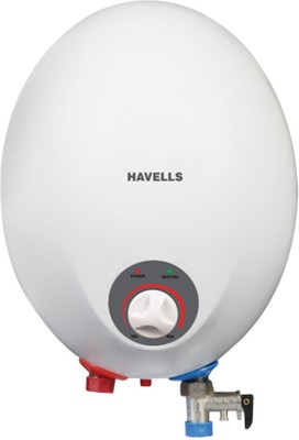 Havells 3 L Instant Water Geyser(White, 3 Ltrs. opal White)
